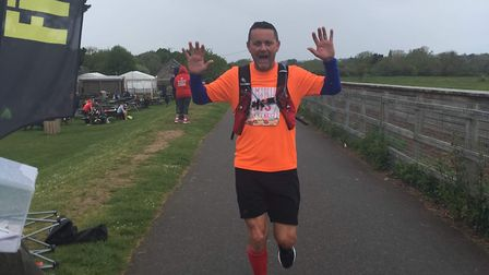 Mark Phillips will be running the Exeter marathon to raise money for Sidmouth Lifeboat. Picture: Mar