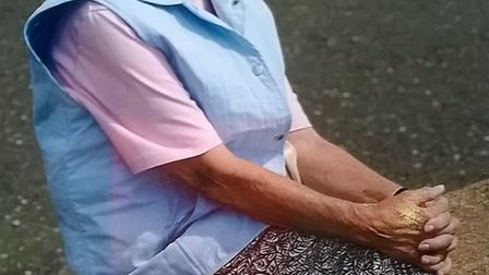 The much loved Beryl Sparkes (1920 - 2019) who is going to be very missed by all at Sidmouth Bowls C