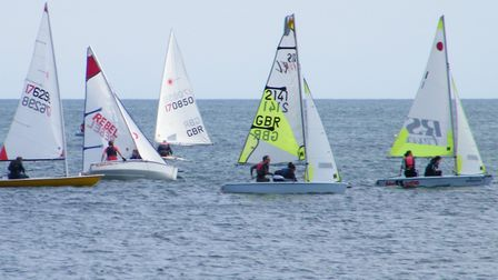 At sea with the Sidmouth Sailing Club. Picture: Sidmouth Sailing Club