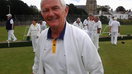 Sidmouth men's captain Mike Borst. Picture CAROL SMITH