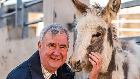 Peter Wright, the Yorkshire Vet, has been unveiled as the new ambassador of The Donkey Sanctuary. Pi