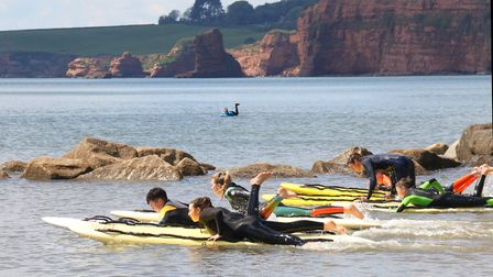 Sidmouth Surf Life Saving Club. Picture: Simon Horn
