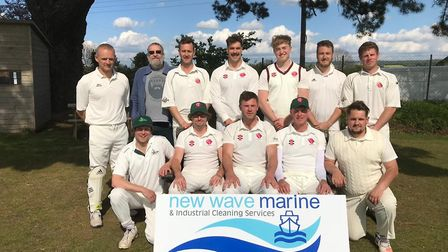Sidbury CC who have made a winning start to their Tolchards Devon League H Division East campaign. P