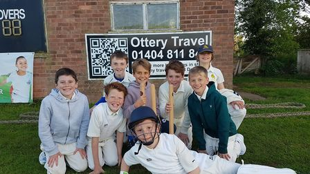 Ottery St Mary Under-11s.