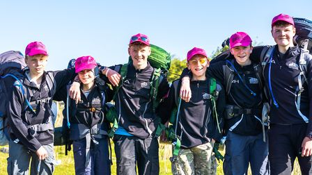 Sidmouth College students take part in Ten Tors Challenge, 2019. Picture: Sarah Hall