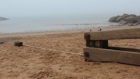 Foggy scenes from around Sidmouth. Picture: Emily Prince