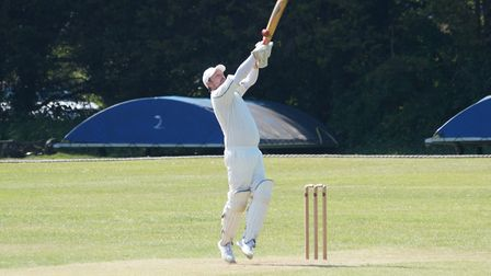 David Thayre batting for Tipton in the meeting with an Ottery St Mary Sunday XI. Picture PHIL WRIGHT