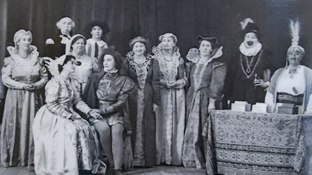 Sidford WI put on Shakespear in the 1940s. Ref edr 13 19TI 1184. Picture: Sidford WI