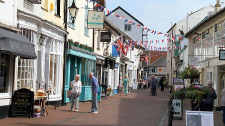 Old Fore Street, Sidmouth. Ref shs 9244-25-15AW. Picture: Alex Walton