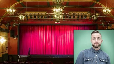 The Manor Pavilion in Sidmouth will once again host the Summer Play Festival. Insert is Paul Taylor-