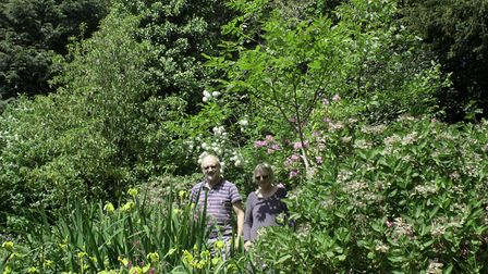 John and Jean Twibell at Farthing Wood, one of the venues. Picture: Diana East