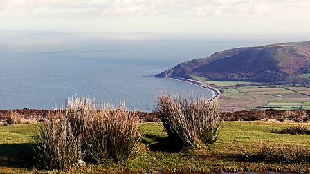 View across the Bristol Channel from Exmoor. Picture: Barbara Mellor
