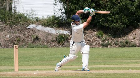 Alex Clements batting for Ottery against Alphington. Ref shsp 23 19TI 1020729. Picture: Terry Ife