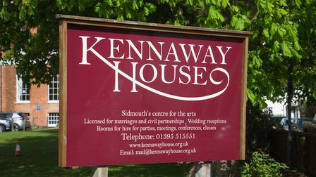Kennaway House in Sidmouth. Ref edr 17 19TI 3176. Picture: Terry Ife