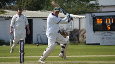Phil Tolley who scored a century in the Tipton tour game at Mount Ambrose. Picture PHIL WRIGHT