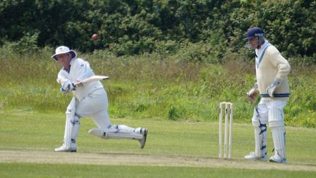 Dave Jessop batting for Tipton during the Cornish tour. Picture PHIL WRIGHT