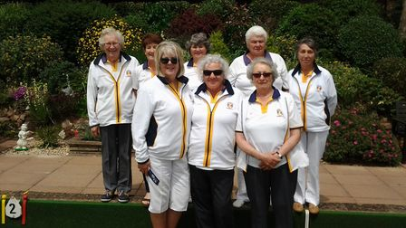 The Sidmouth team that defeated Ottery St Mary at Madeira in the second round of the Devon InterClub