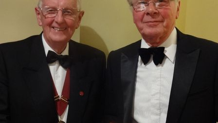 Jeff Turner became the 36th president of the Sidmouth and District Lancastrian Association, taking o