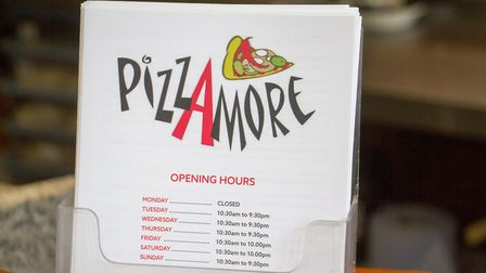 PizzAmore in Ottery St Mary. Ref sho 24 19TI 6641. Picture: Terry Ife