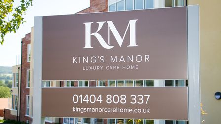 King's Manor, luxury care home in Ottery St Mary. Ref sho 28 19TI 7339. Picture: Terry Ife