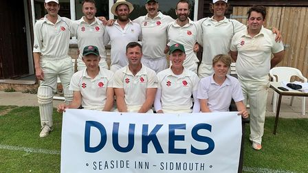 Sidbury, who claimed a seventh success in seven Tollchards Devon League H Division East outings when