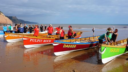 Gigs all set for racing at the 2018 Sidmouth Gig Club Regatta. Sunday (July 14) sees the 2019 Sidmou