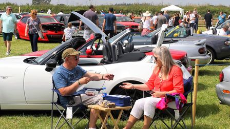 The Donkey Sanctuary car show. Picture: The Donkey Sanctuary