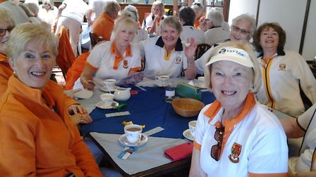 The ladies from Cardiff-based Rhiwbina at Sidmouth Picture CAROL SMITH