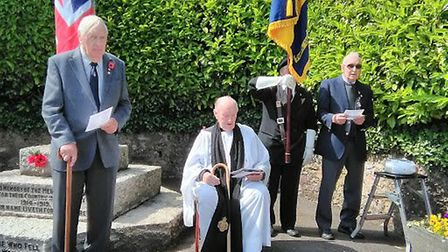 D-Day anniversary event in Sidford. Picture: Peter Eagles