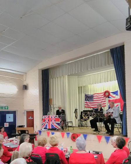 Entertainment at the D-Day commemoration. Picture: Peter Eagles