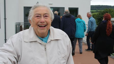 Margaret Kimber, who attended the school during World War Two. Picture: Callum Lawton