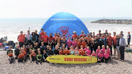 Sidmouth Surf Life Saving Club who have received another super sponsorship from Costa Coffee who hav