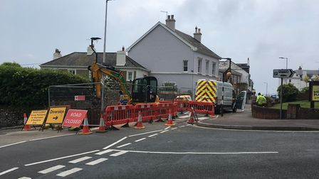 Sidmouth Chamber of Commerce have pushed for the works to be completed as soon as possible. Picture: