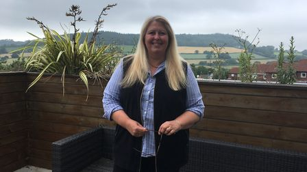 Alison Hanson is leaving the medical practice after 30 years as its office manager to become a taxi