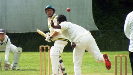 Ottery Cricket Club v Whimple Cricket Club. Picture: Sam Cooper