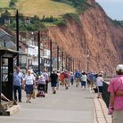 Sidmouth Esplanade. Ref shs 27 18TI 7051. Picture: Terry Ife