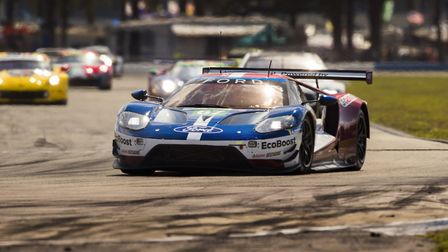 Harry Tincknell in action at the 2019 Le Mans 24 Hour race. Picture HARRY TINCKNELL