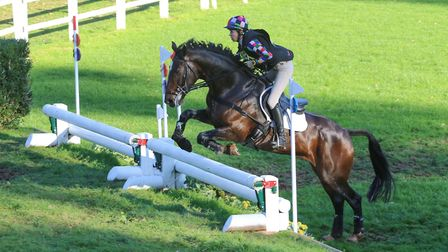 Action from Bicton Arena with katie Hancock on Coddstown Pet. Picture CAROL JAY