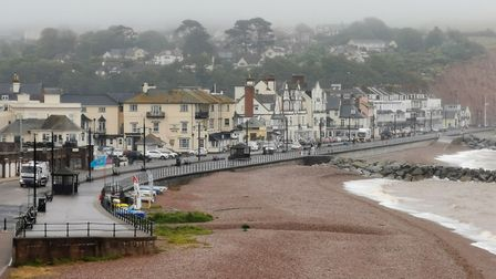 Sidmouth seafront. Picture: Alex Walton