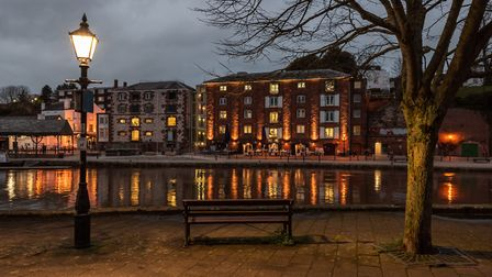 Opposite the Quay. Picture: Michael Ginsberg
