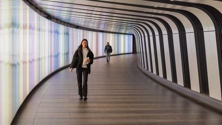Underpass. Picture: Michael Ginsberg
