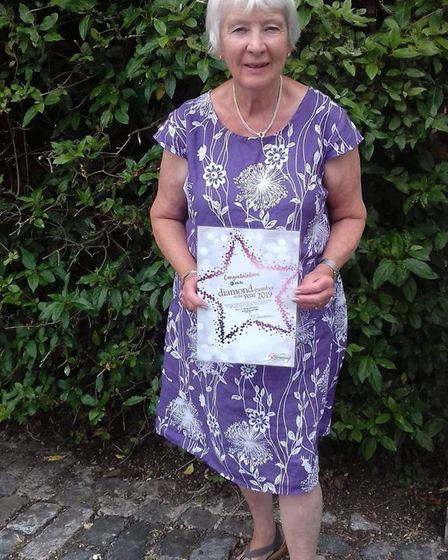 Gill Turbitt is one of five Slimming World members to receive the award. Picture: Sidmouth Slimming
