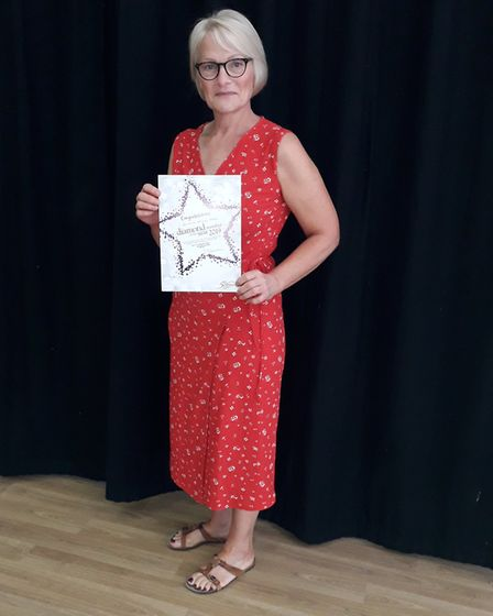 Beverley Wilkins-Wall has been recognised as one of Sidmouth Slimming World's diamond members. Pictu