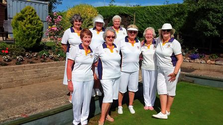 The Sidmouth team that made more progress in the Devon InterClub competition with victory over Plymo