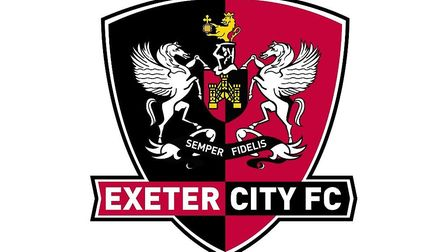 Exeter City FC crest. Picture: exetercityfc @wikimedia commons