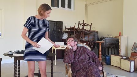 Sidmouth Summer Play Festival. Present Laughter. Picture: Jonny Clines