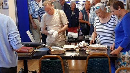 Some 400 visitors attended the exhibition at Kennaway House. Picture: Ann Tanner
