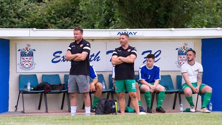 Sidmouth Town away at Exmouth for a pre-season friendly. Ref shsp 29 19TI 7507. Picture: Terry Ife