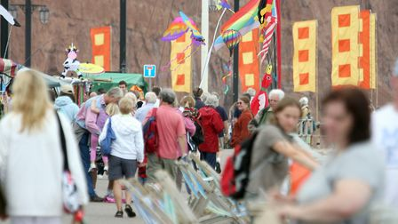 Sidmouth Folk Week. Picture: Terry Ife