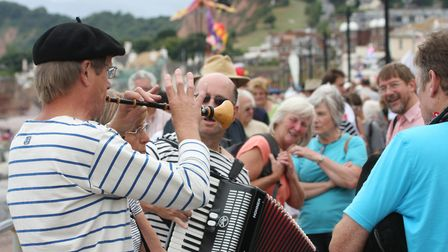 Sidmouth Folk Week in years gone by. Picture: Terry Ife